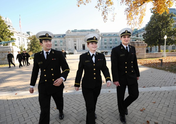 Naval Academy students