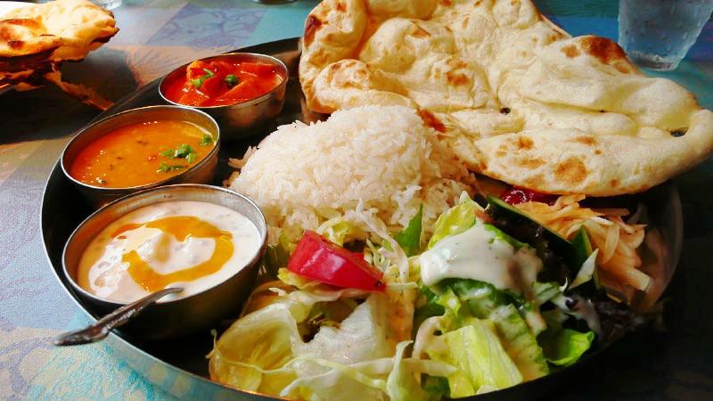 Curry végétarian.