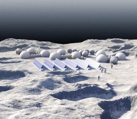 Reconquête de la Lune, par Christophe Martin (Licence CC).