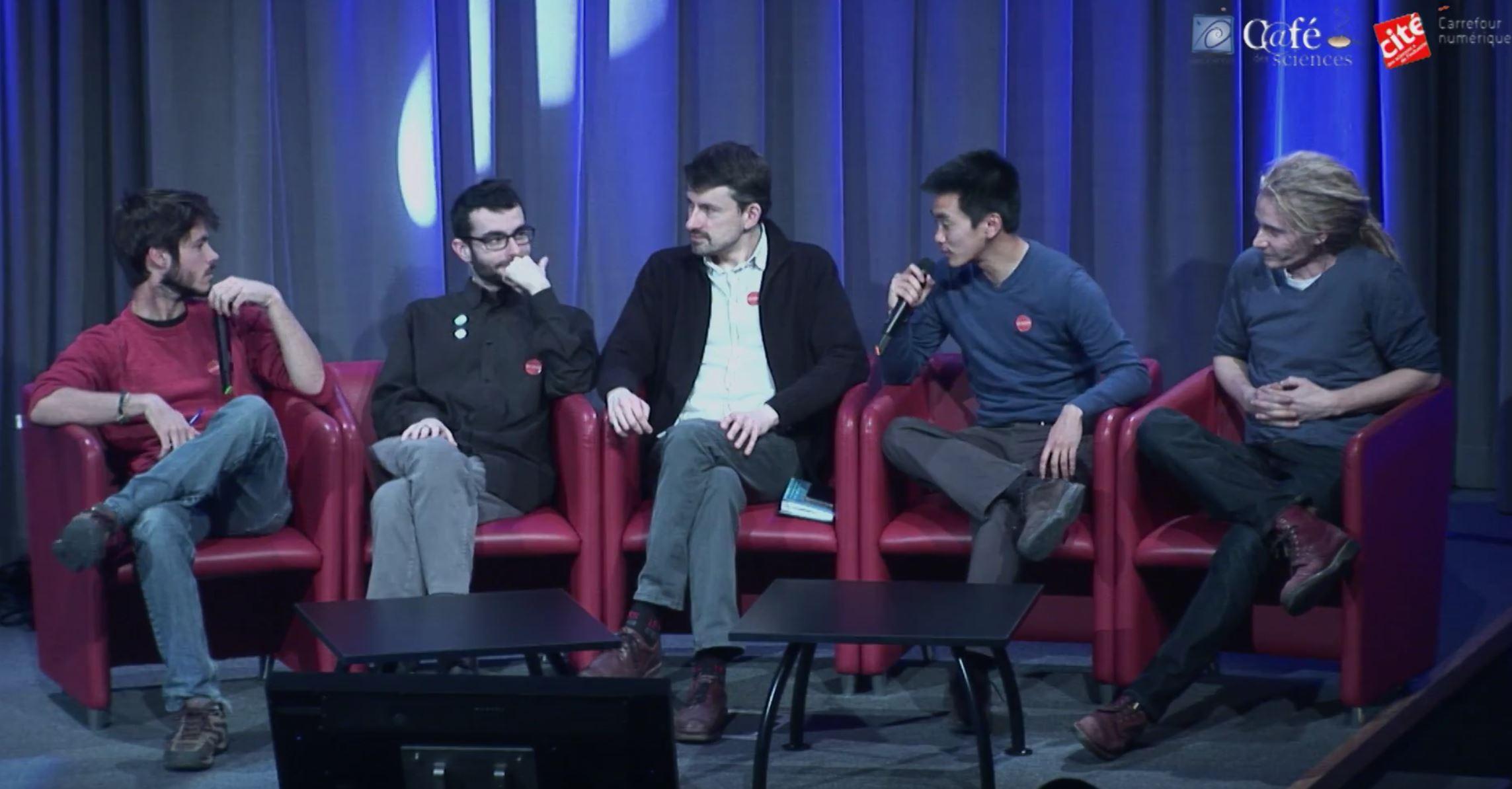 Festival Vidéosciences l'envers du décor replay table ronde engouement pour les vidéos scientifiques
